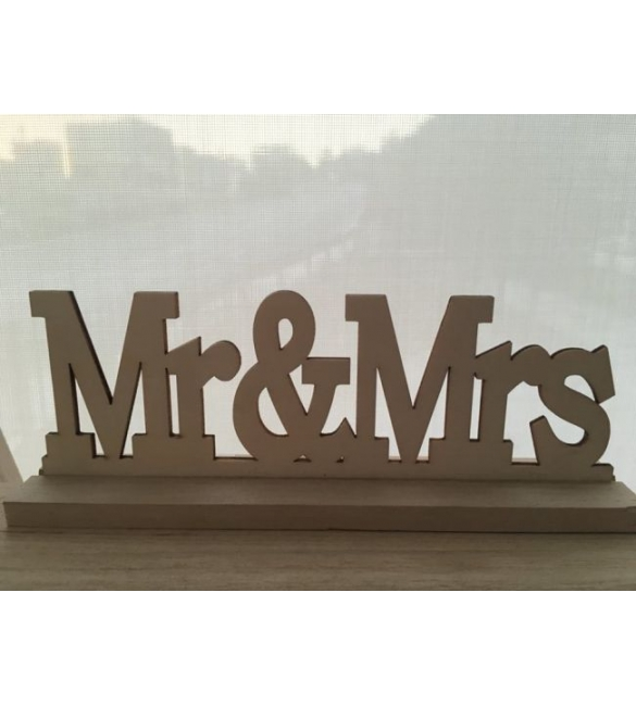 Mr & Mrs διακοσμητικό!