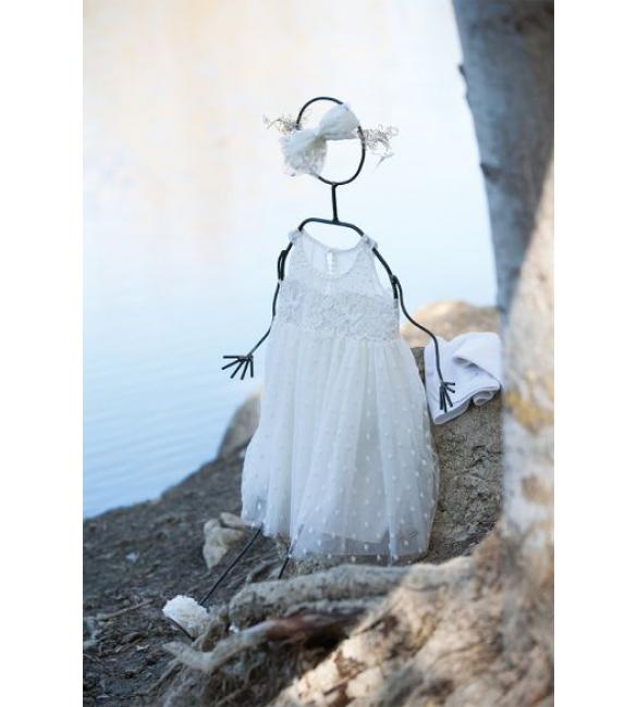 Φόρεμα αμπίρ με δαντέλα!