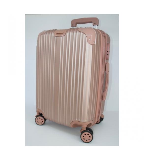 Βαλίτσα ροζ τρόλευ!