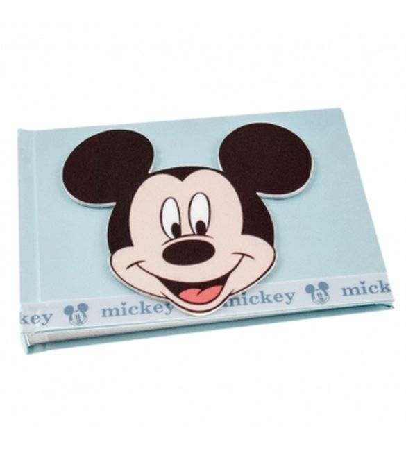 Βιβλίο ευχών βάπτισης mickey.