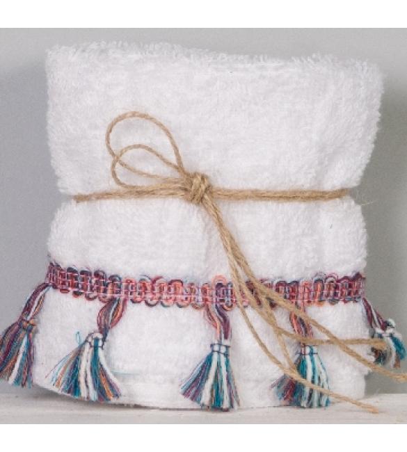 Μπομπονιέρα πετσέτα με κρόσια!